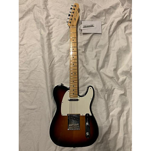 used fender american standard telecaster solid body electric guitar sunburst guitar center. Black Bedroom Furniture Sets. Home Design Ideas