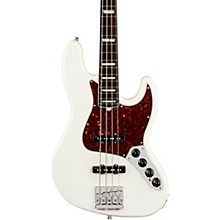 American Ultra Jazz Bass Rosewood Fingerboard Level 2 Arctic Pearl 190839923646