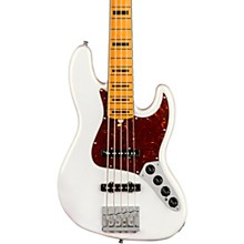 American Ultra Jazz Bass V 5-String Maple Fingerboard Arctic Pearl