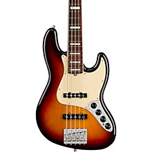 American Ultra Jazz Bass V 5-String Rosewood Fingerboard Ultraburst