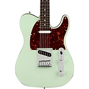 American Ultra Luxe Telecaster Rosewood Fingerboard Electric Guitar Transparent Surf Green