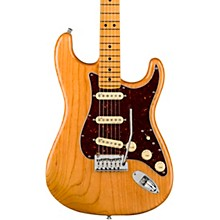American Ultra Stratocaster Maple Fingerboard Electric Guitar Aged Natural