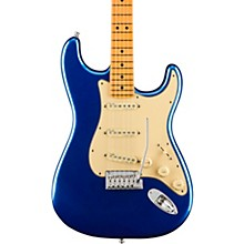 American Ultra Stratocaster Maple Fingerboard Electric Guitar Cobra Blue