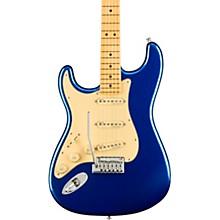 American Ultra Stratocaster Maple Fingerboard Left-Handed Electric Guitar Cobra Blue