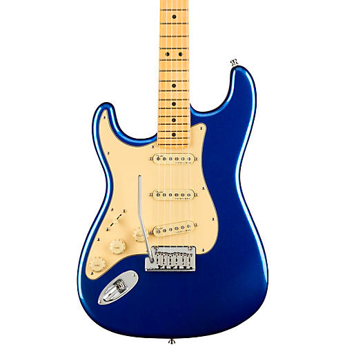 Fender American Ultra Stratocaster Maple Fingerboard Left-Handed Electric Guitar