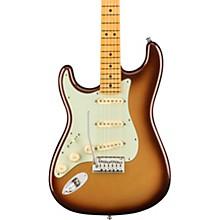 American Ultra Stratocaster Maple Fingerboard Left-Handed Electric Guitar Mocha Burst