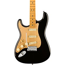 American Ultra Stratocaster Maple Fingerboard Left-Handed Electric Guitar Texas Tea