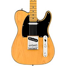 American Ultra Telecaster Maple Fingerboard Electric Guitar Butterscotch Blonde