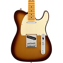 American Ultra Telecaster Maple Fingerboard Electric Guitar Mocha Burst