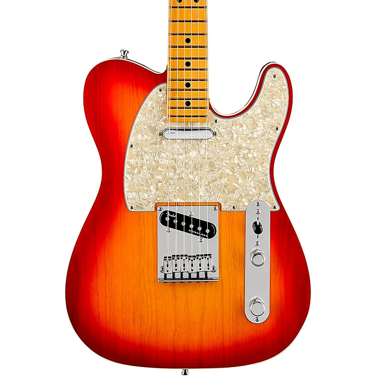 Fender American Ultra Telecaster Maple Fingerboard Electric Guitar