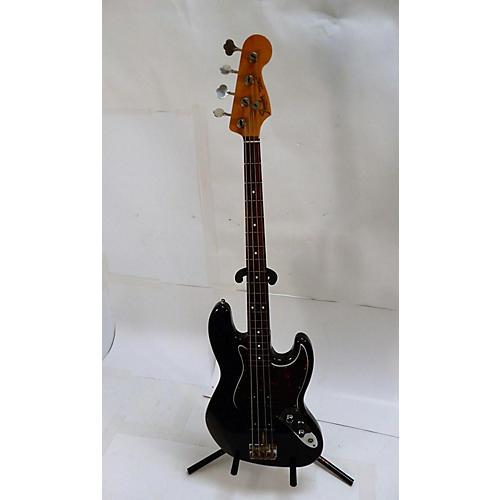 used fender american vintage 1962 jazz bass electric bass guitar black guitar center. Black Bedroom Furniture Sets. Home Design Ideas