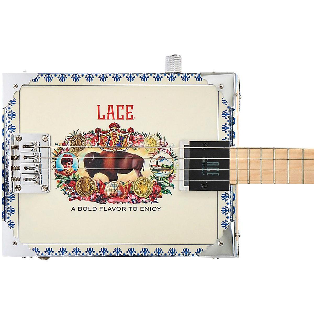 Lace Americana Acoustic-Electric Cigar Box Guitar