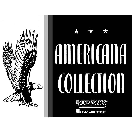 Rubank Publications Americana Collection for Band (Baritone Saxophone) Concert Band Composed by Various