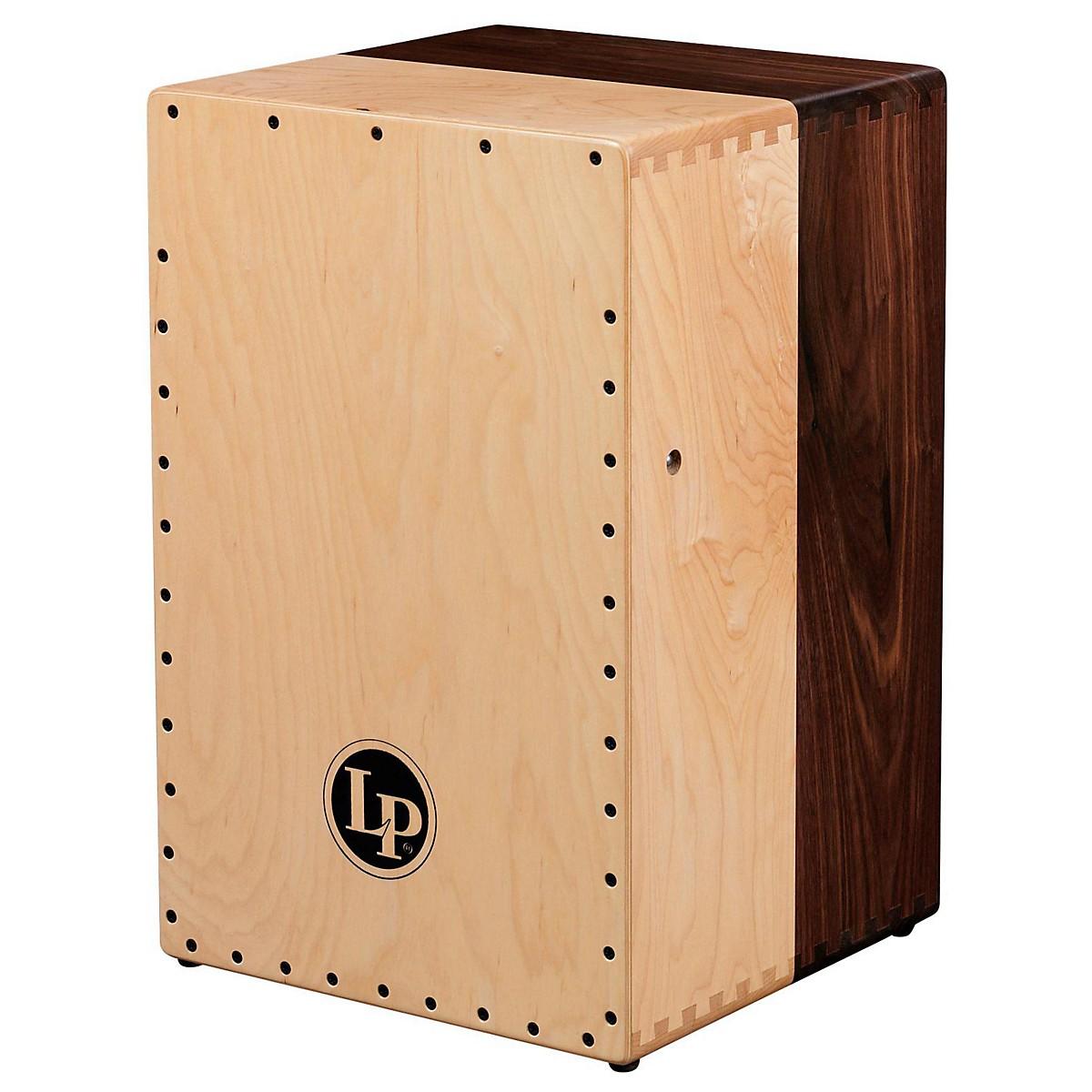 LP Americana Solid Black Walnut and Solid Hard Maple Cajon