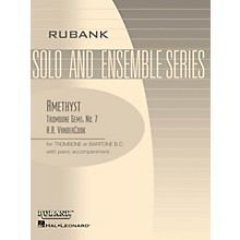 Rubank Publications Amethyst (Trombone (Baritone B.C.) Solo with Piano - Grade 3) Rubank Solo/Ensemble Sheet Series