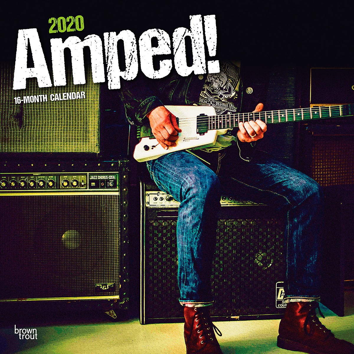 Browntrout Publishing Amped 2020 Calendar
