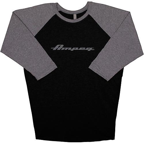 Ampeg Ampeg Raglan Black Sleeve Shirt - Grey