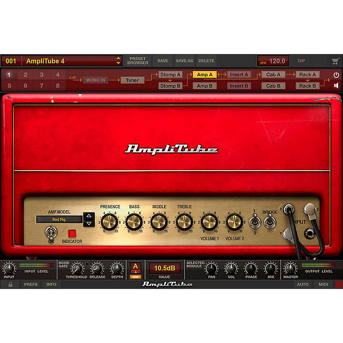 IK Multimedia AmpliTube 4 Orange Power DUO Bundle