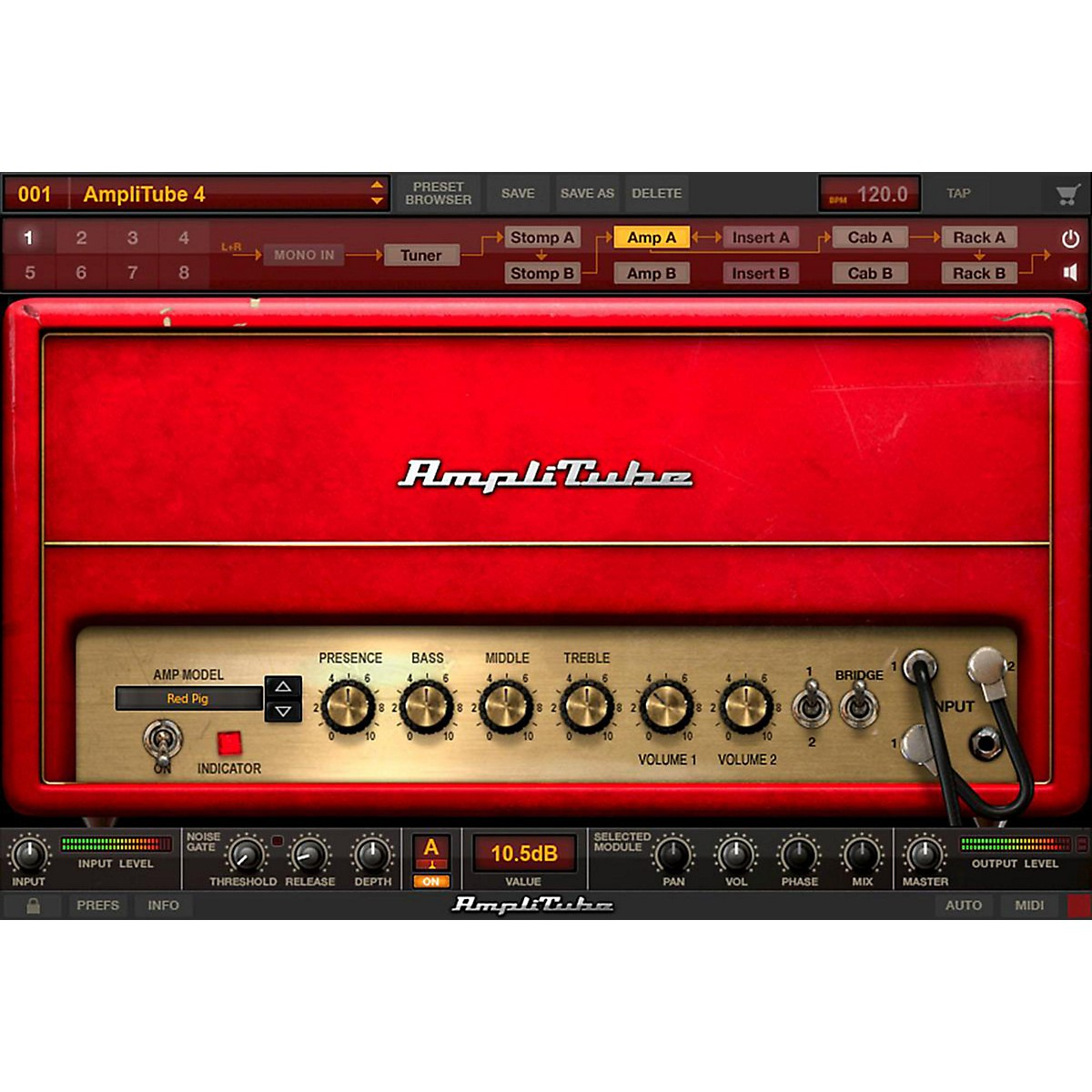 IK Multimedia AmpliTube 4 and Mesa Boogie Combo