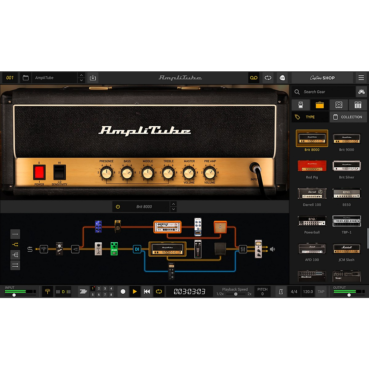 IK Multimedia AmpliTube 5 (Download)