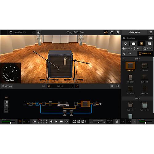 IK Multimedia AmpliTube SVX (Download)