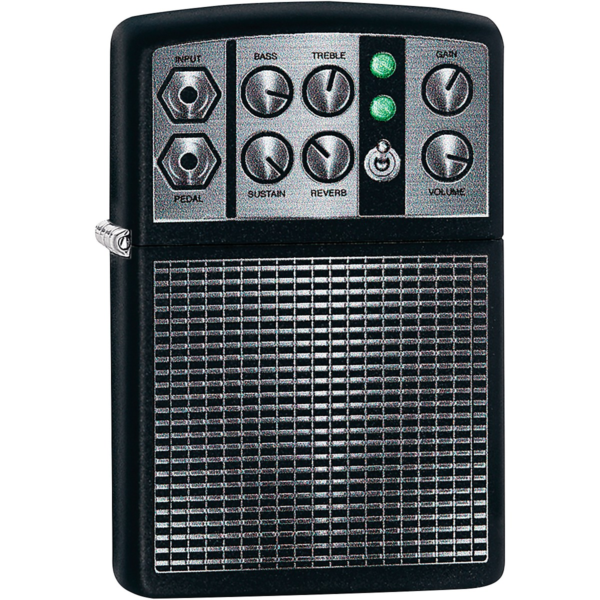 Zippo Amplifier Lighter - Black Matte
