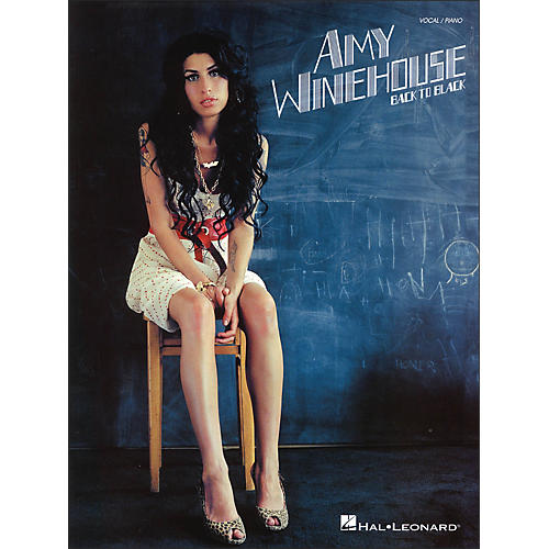Hal Leonard Amy Winehouse - Back To Black (Vocal / Piano)