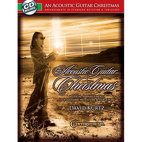 Hal Leonard An Acoustic Guitar Christmas Book/CD