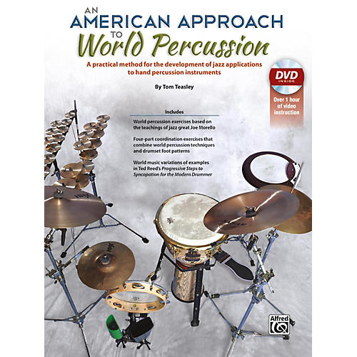 Alfred An American Approach to World Percussion Book & DVD