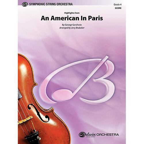 BELWIN An American in Paris, Highlights from Grade 4