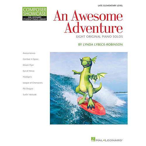 Hal Leonard An Awesome Adventure Piano Library Series Book by Lynda Lybeck-Robinson (Level Book 3)