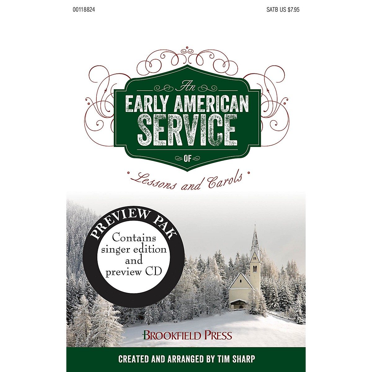 Brookfield An Early American Service of Lessons and Carols PREV CD PAK arranged by Tim Sharp