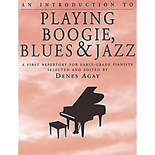 Yorktown Music Press An Introduction to Playing Boogie, Blues and Jazz Yorktown Series Softcover