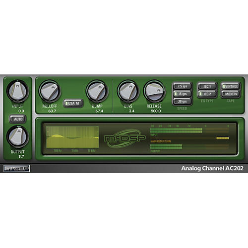 McDSP Analog Channel HD v6 (Software Download)