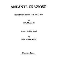 Shawnee Press Andante Grazioso Concert Band Level 2 1/2 Arranged by Thornton