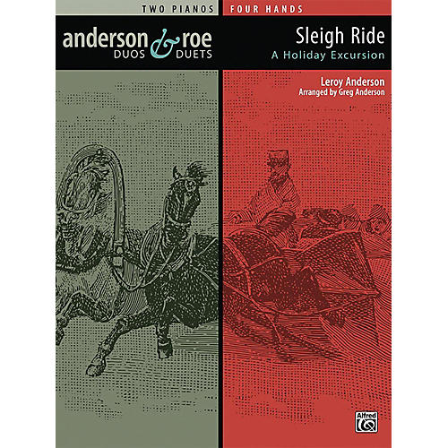 Alfred Anderson & Roe: Sleigh Ride Advanced Piano Duo