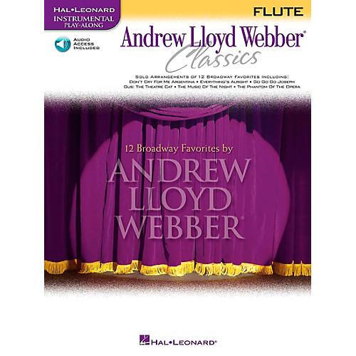 Hal Leonard Andrew Lloyd Webber Classics for Flute Book/CD