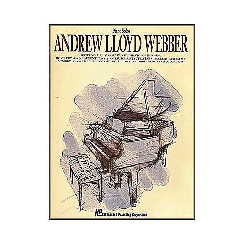 Hal Leonard Andrew Lloyd Webber arranged for piano solo