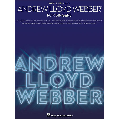Hal Leonard Andrew Lloyd Webber for Singers - Men's Edition