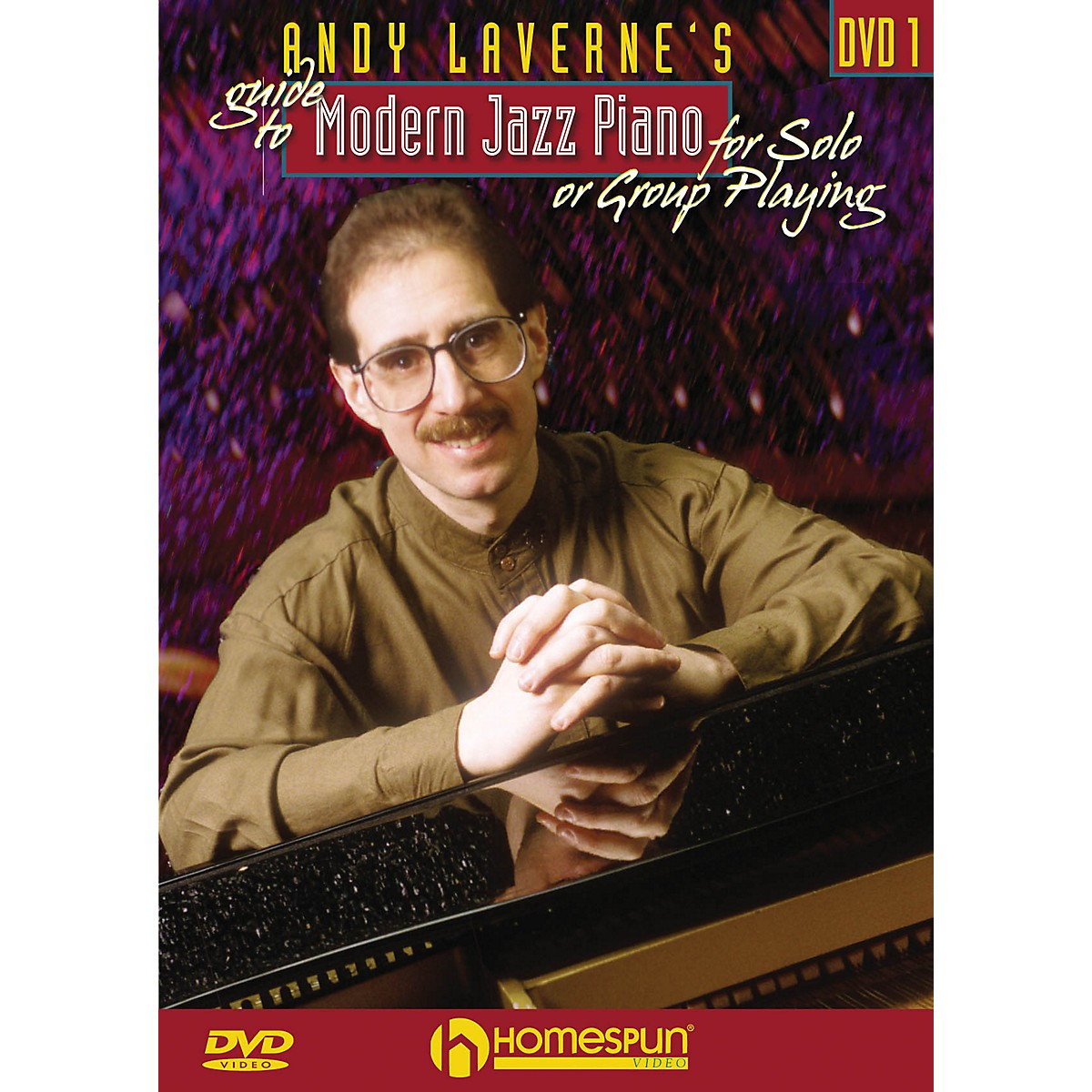 Homespun Andy LaVerne's Guide to Jazz Piano Homespun Tapes Series DVD Performed by Andy LaVerne