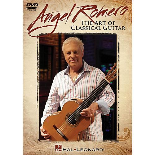 Hal Leonard Angel Romero (The Art of Classical Guitar) Instructional/Guitar/DVD Series DVD Performed by Angel Romero