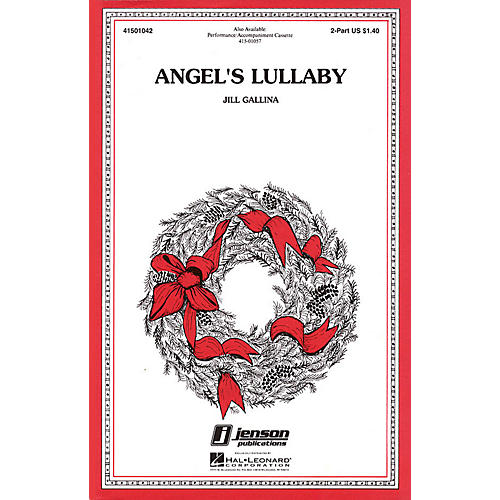 Hal Leonard Angel's Lullaby 2-Part composed by Jill Gallina