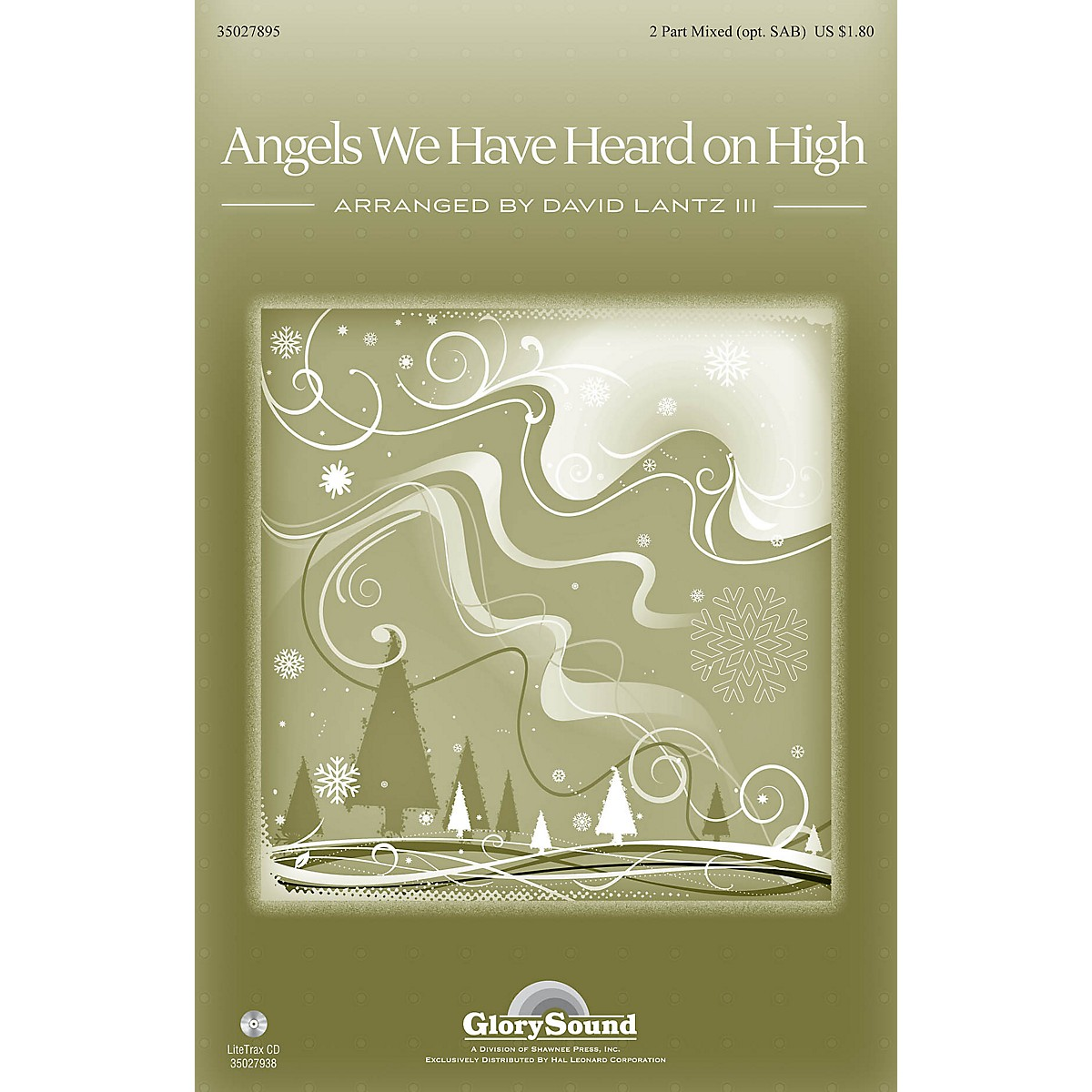 Shawnee Press Angels We Have Heard on High 2 Part / SAB arranged by David Lantz III