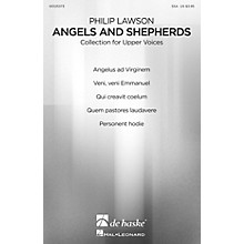 De Haske Music Angels and Shepherds (Christmas Choral Collection for Upper Voices) SSA COLLECTION by Philip Lawson