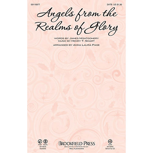 Brookfield Angels from the Realms of Glory SATB arranged by Anna Laura Page