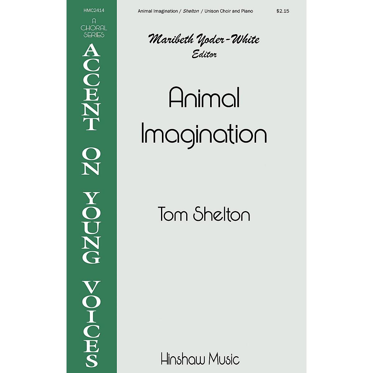 Hinshaw Music Animal Imagination UNIS composed by Tom Shelton