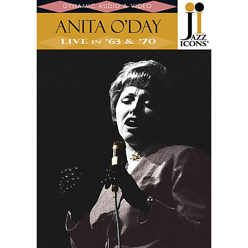 Jazz Icons Anita O'Day - Live in '63 & '70 (Jazz Icons DVD) DVD Series DVD Performed by Anita O'Day