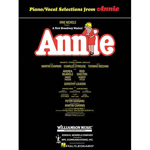 Hal Leonard Annie arranged for piano, vocal, and guitar (P/V/G)