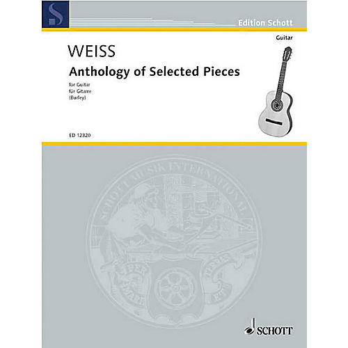 Schott Anthology of Selected Pieces (Guitar Solo) Schott Series