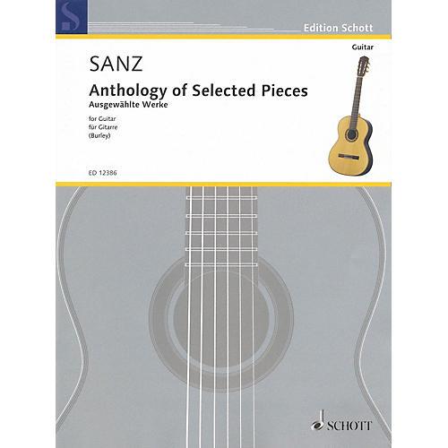 Schott Anthology of Selected Pieces for Guitar Schott Series